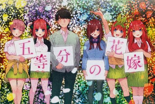 Negi Haruba, Go-toubun no Hanayome, Miku Nakano, Nino Nakano, Ichika Nakano