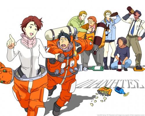 Sunrise (Studio), Planetes, Hachirota Hoshino, Ai Tanabe, Yuri Mihairokoh Wallpaper