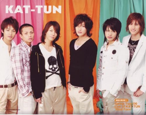 Tatsuya Ueda, KAT-TUN, Koki Tanaka, Kazuya Kamenashi, Junnosuke Taguchi