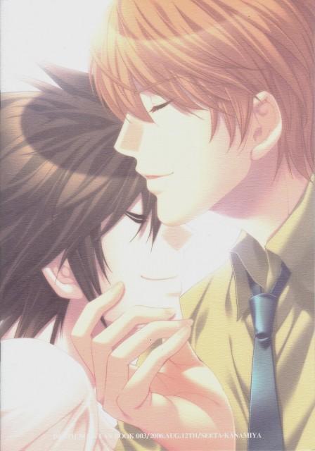 Death Note, L, Light Yagami, Doujinshi