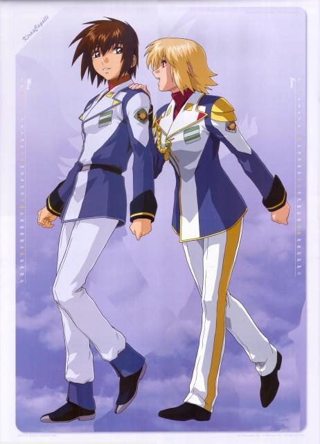 Sunrise (Studio), Mobile Suit Gundam SEED Destiny, Gundam SEED Destiny 2007 Calendar, Cagalli Yula Athha, Kira Yamato