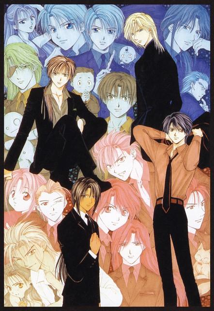 Yuu Watase, Fushigi Yuugi: Genbu Kaiden, Fushigi Yuugi, Genbu Kaiden 9.5 Official Fan Book, Tomo (Fushigi Yuugi)