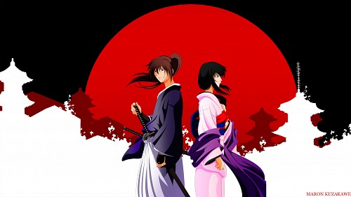 Rurouni Kenshin, Kenshin Himura, Tomoe Yukishiro Wallpaper