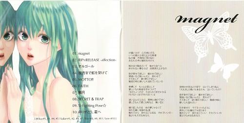 Yunomi, Vocaloid, Miku Hatsune, Album Cover