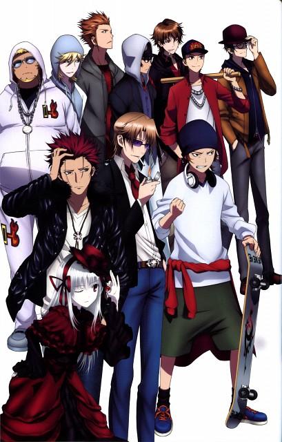 GoHands, K Project, A Memory of Kings - K Official Guide Book, Izumo Kusanagi, Saburouta Bandou