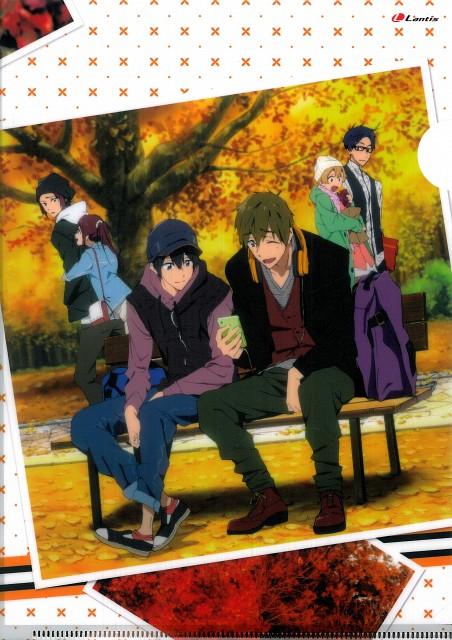 Makoto Tsuchibayashi, Kyoto Animation, Free!, Rei Ryuugazaki, Gou Matsuoka