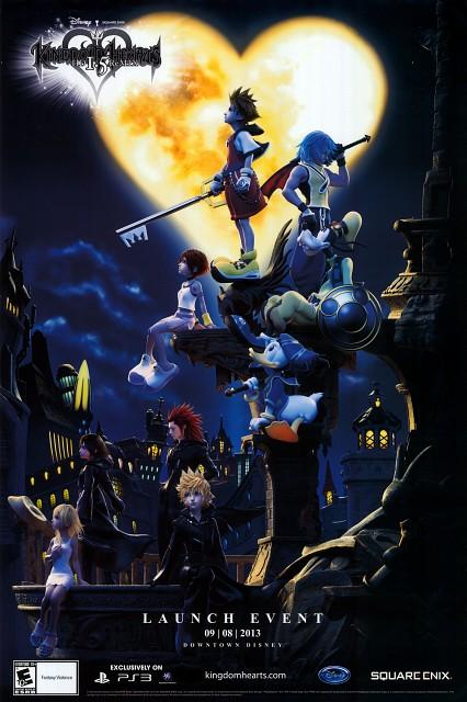 Square Enix, Kingdom Hearts, Naminé, Goofy, Kairi