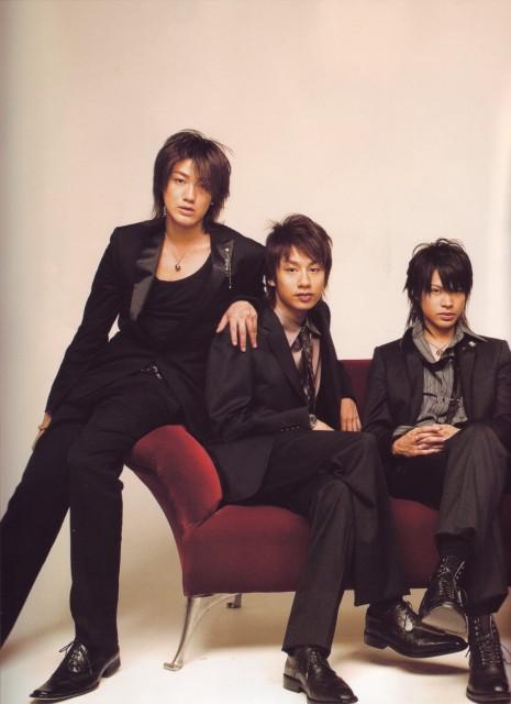 Jin Akanishi, KAT-TUN, Tatsuya Ueda, Yuichi Nakamaru