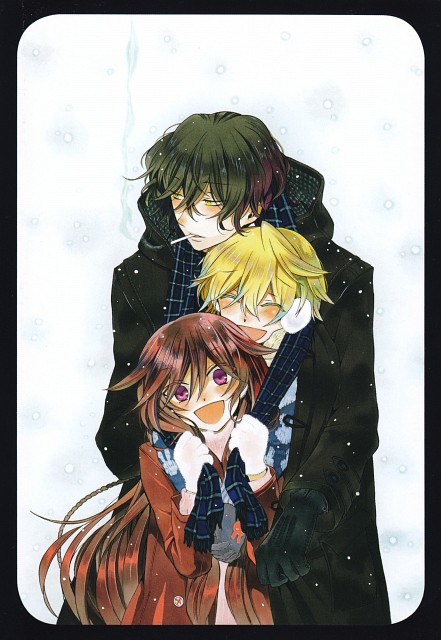 Jun Mochizuki, Xebec, Pandora Hearts, Oz Vessalius, Alice