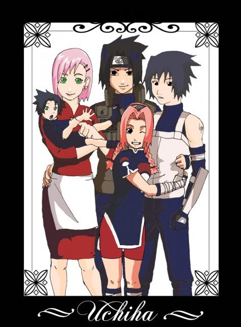 Studio Pierrot, Naruto, Sakura Haruno, Sasuke Uchiha, Member Art