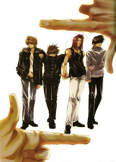 Kazuya Minekura, Saiyuki, Salty Dog II, Son Goku (Saiyuki), Cho Hakkai