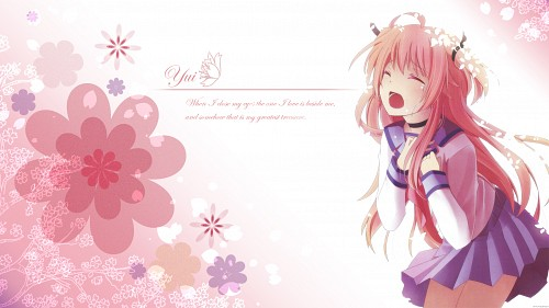 P.A. Works, Key (Studio), Angel Beats!, Yui (Angel Beats!) Wallpaper