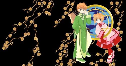 CLAMP, Cardcaptor Sakura, Sakura Kinomoto, Syaoran Li Wallpaper