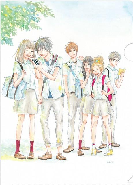 Ichigo Takano, Orange (Series), Hiroto Suwa, Kakeru Naruse, Azusa Murasaka