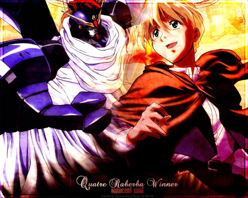 Sunrise (Studio), Mobile Suit Gundam Wing, Quatre Raberba Winner Wallpaper