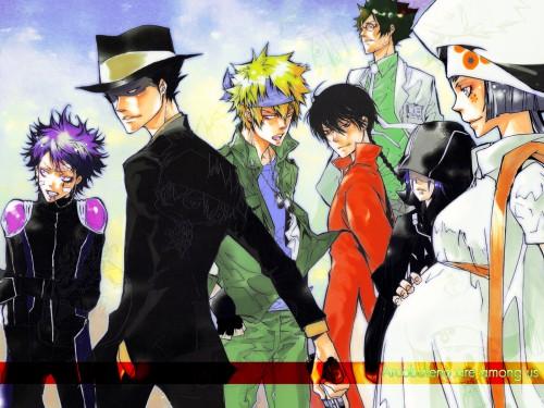 Akira Amano, Artland, Katekyo Hitman Reborn!, Mammon (Katekyo Hitman Reborn!), Verde Wallpaper