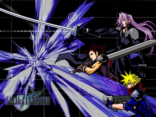 Square Enix, Final Fantasy VII: Before Crisis Wallpaper