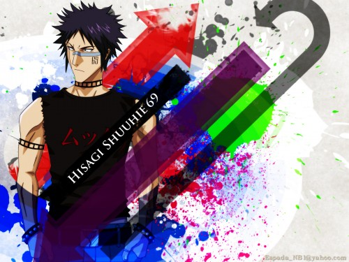 Kubo Tite, Studio Pierrot, Bleach, Shuuhei Hisagi Wallpaper