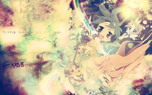 Kyoto Animation, Lucky Star, Tsukasa Hiiragi, Kagami Hiiragi, Konata Izumi Wallpaper