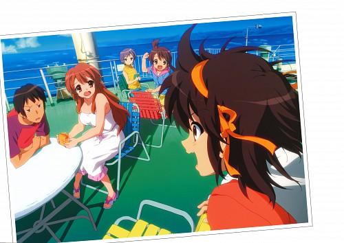Kyoto Animation, The Melancholy of Suzumiya Haruhi, Haruhi Suzumiya, Yuki Nagato, Mikuru Asahina