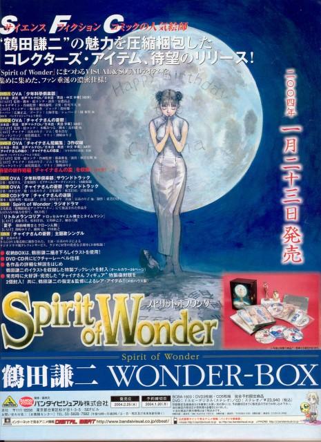 Kenji Tsuruta, Spirit of Wonder