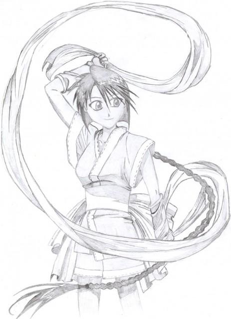 Nobuhiro Watsuki, Studio Gallop, Studio DEEN, Rurouni Kenshin, Misao Makimachi