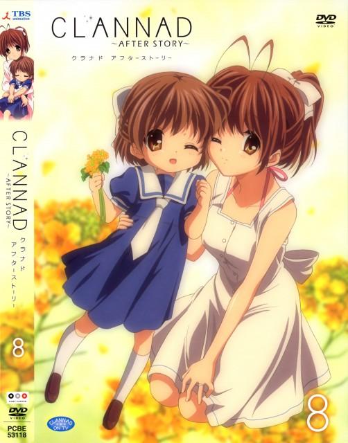 Kyoto Animation, Clannad, Nagisa Furukawa, Ushio Okazaki, DVD Cover