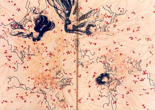 Naoko Takeuchi, Bishoujo Senshi Sailor Moon, BSSM Original Picture Collection Vol. IV, Michiru Kaioh, Minako Aino