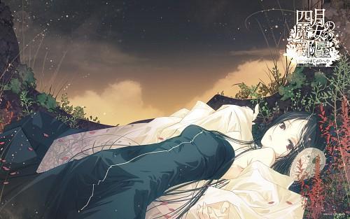 Chihiro Aikura, TYPE-MOON, Shigatsu no Majo no Heya, Official Wallpaper