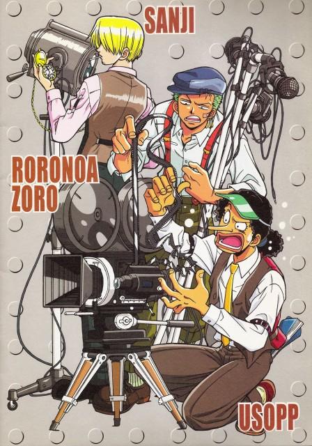 Eiichiro Oda, One Piece, Sanji, Roronoa Zoro, Usopp