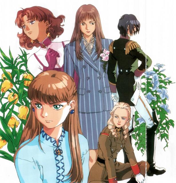 Sunrise (Studio), Mobile Suit Gundam Wing, Catherine Bloom, Lucrezia Noin, Lady Une