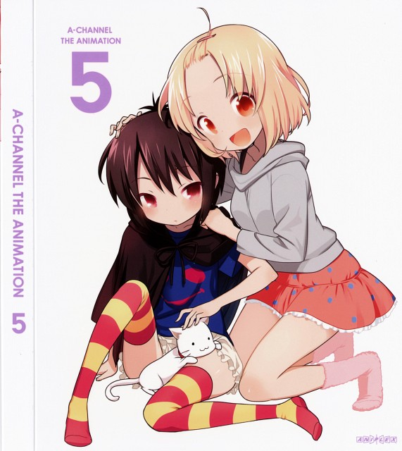 bb Kuroda, Studio Gokumi, A Channel, Run (A Channel), DVD Cover