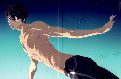 Futoshi Nishiya, Kyoto Animation, Free!, Haruka Nanase (Free!), DVD Cover