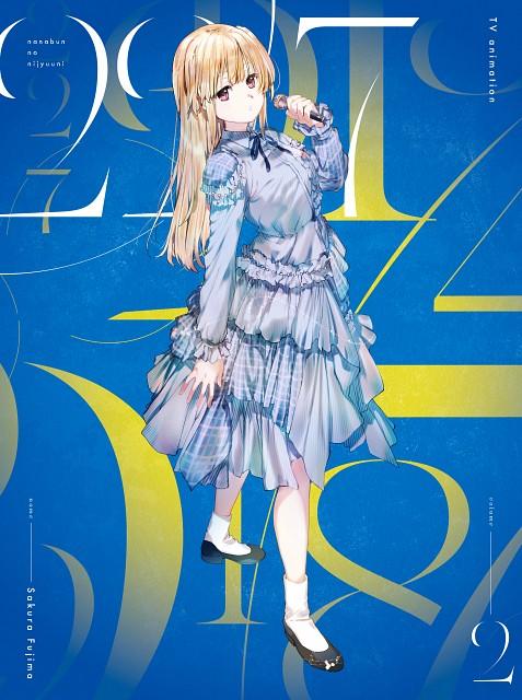 A-1 Pictures, 22/7, Sakura Fujima, Official Digital Art, DVD Cover