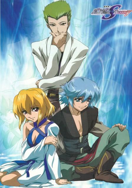 Sunrise (Studio), Mobile Suit Gundam SEED Destiny, Sting Oakley, Auel Neider, Stellar Loussier