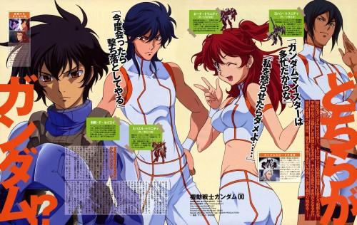 Mobile Suit Gundam 00, Setsuna F. Seiei, Michael Trinity, Johann Trinity, Nena Trinity