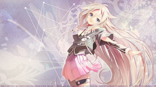 Vocaloid, IA Wallpaper