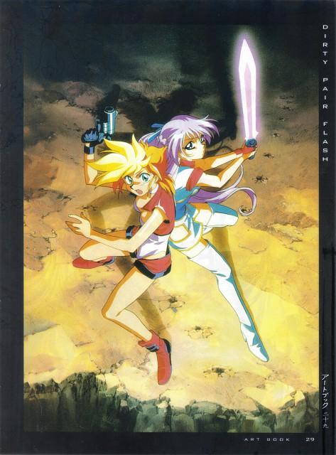 Takahiro Kimura, Studio Nue, Sunrise (Studio), Dirty Pair, Girls - Artbook VI