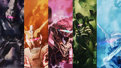 Mobile Suit Gundam Unicorn Wallpaper
