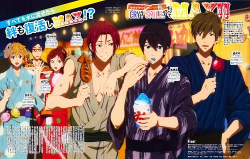 Kyoto Animation, Free!, Makoto Tachibana, Gou Matsuoka, Haruka Nanase (Free!)