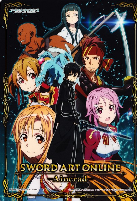 Abec, A-1 Pictures, Sword Art Online, Pina, Andrew Gilbert Mills