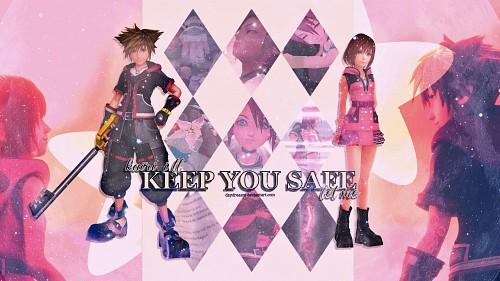 Square Enix, Kingdom Hearts, Sora, Kairi Wallpaper