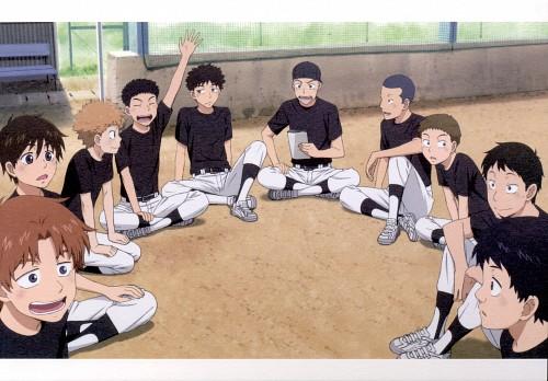 Asa Higuchi, A-1 Pictures, Ookiku Furikabutte, Ookiku Furikabutte Postcard Book, Kousuke Izumi