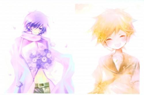 Shimeko, Landmark (Artbook), Vocaloid, Len Kagamine, Kaito