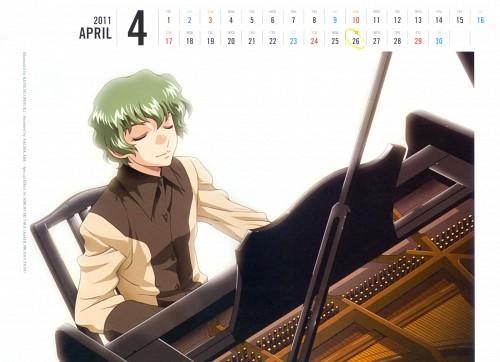 Hisashi Hirai, Sunrise (Studio), Mobile Suit Gundam SEED, Nicol Amalfi, Calendar