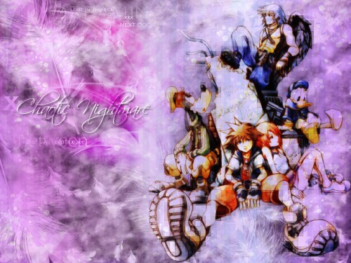 Square Enix, Kingdom Hearts, Kairi, Riku, Sora Wallpaper