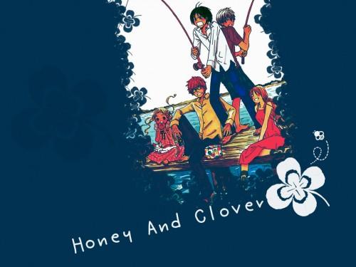 Chika Umino, J.C. Staff, Honey and Clover, Hagumi Hanamoto, Shinobu Morita Wallpaper