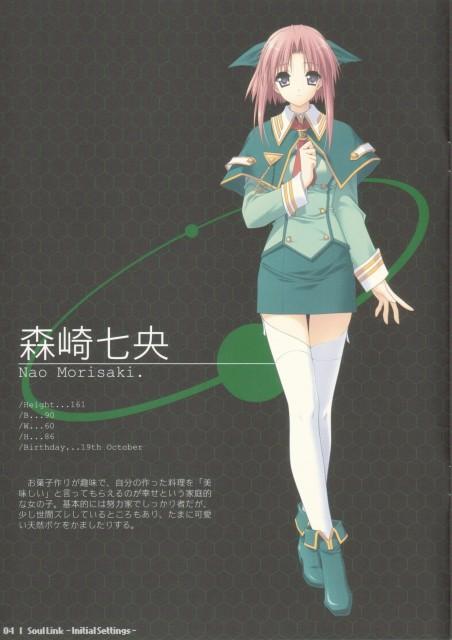 Hiro Suzuhira, Navel (Studio), Soul Link, Nao Morisaki, Character Sheet
