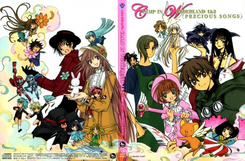 CLAMP, Angelic Layer, Wish, X, RG Veda