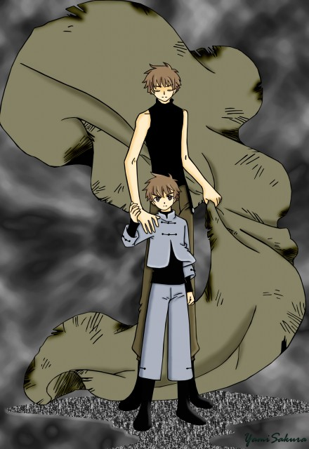 CLAMP, Tsubasa Reservoir Chronicle, Syaoran Li, Vector Art